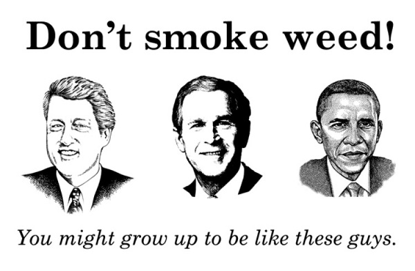 Presidents who smoked weed 600 media image