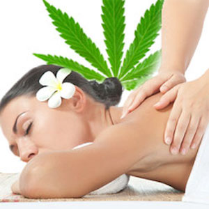 cannabis massage feature