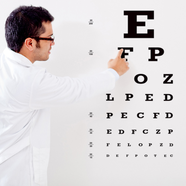 eye doctor stock